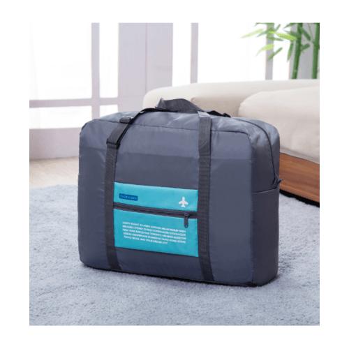 WETZLARS กระเป๋าอเนกประสงค์แบบสอดได้  ZRH-024-BB ขนาด 48x38x20 cm สีเทา-ฟ้า