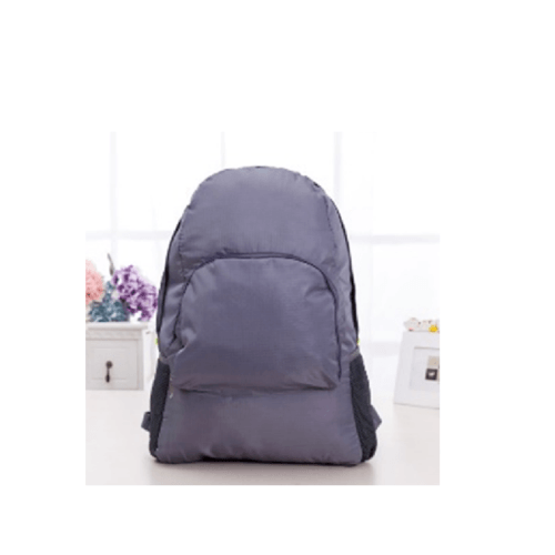 WETZLARS กระเป๋าเป้พับเก็บได้  ขนาด 30x16x42 cm  ZRH-030-GY  สีเทา