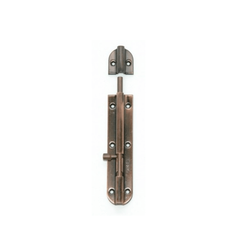 SOLEX กลอนสเตนเลส 4 นิ้ว AC ทองแดงรมดำ