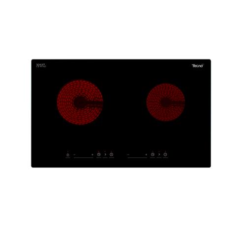 TECNO+ เตาฝัง 2 หัวแก๊ส G.BI.PF702VS  TNP G.BI. PF 702 VS