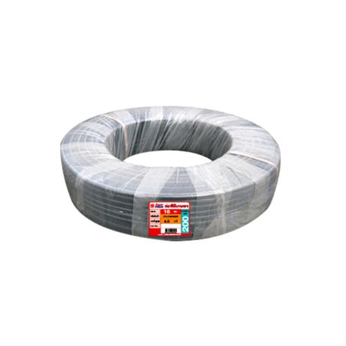 Super Products ท่อ LDPE แรงดัน4 ขนาด 16 มม.200 ม. คาดส้ม(3/8นิ้ว) 014-016040200 สีดำ