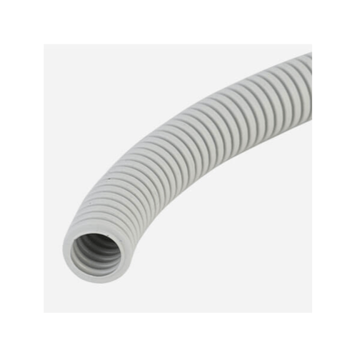 LEETECH ท่อลูกฟูก 3/8 นิ้ว ยาว 5 เมตร PF103-5W  สีขาว