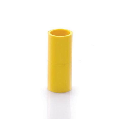 SCG ข้อต่อตรงเหลือง3นิ้ว (80) สีเหลือง