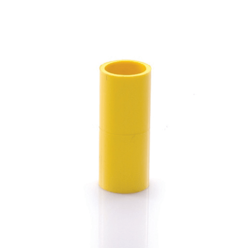 SCG ข้อต่อตรงเหลือง4 นิ้ว (100) สีเหลือง