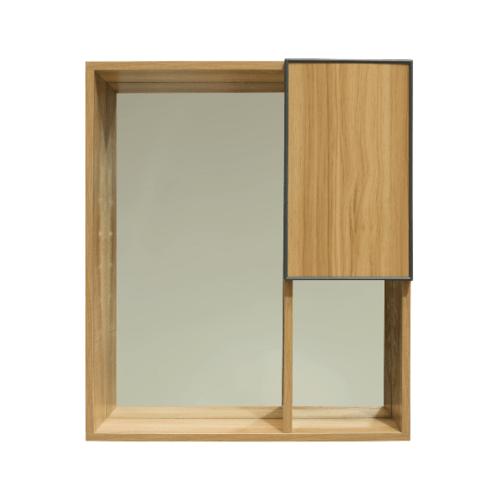 VERNO ชุดเคาน์เตอร์อ่างล้างหน้าแบบแขวน  +กระจกเคาน์เตอร์ 8006-60