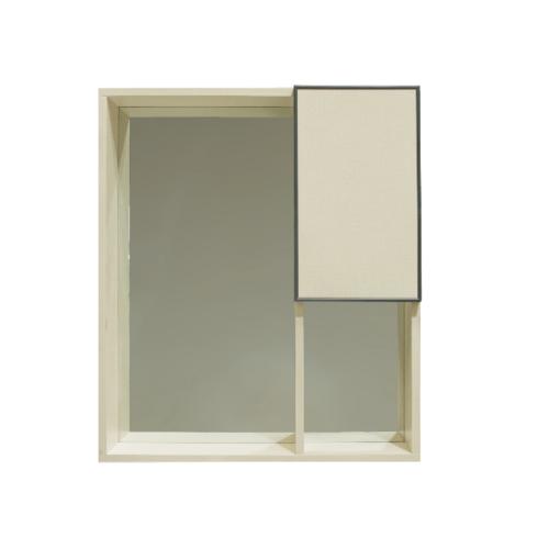 VERNO ชุดเคาน์เตอร์อ่างล้างหน้าแบบแขวน+กระจกเคาน์เตอร์ 9006-60
