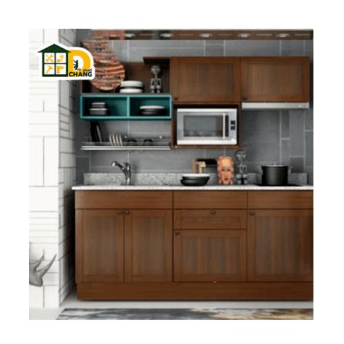 Global house บริการติดตั้งคิ้วไม้ตู้เคาน์เตอร์ครัวสำเร็จรูป (ราคา/เมตร)