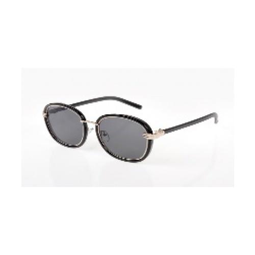 USUPSO แว่นตากันแดดผู้หญิง  Palm colorful กรอบดำ สีดำ