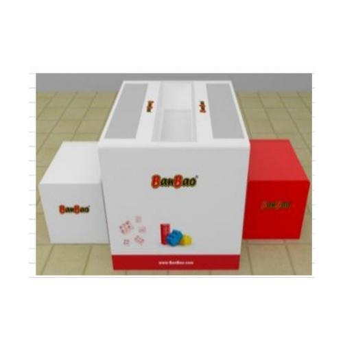 Sanook&Toys Toys ชุดโต๊ะตัวต่อเลโก้ 21814 สีขาว