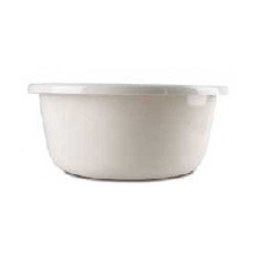 - กะละมังพลาสติกกลม ขนาด 50.50x50.50x17 รุ่น EDS027 สีขาว  ขาว