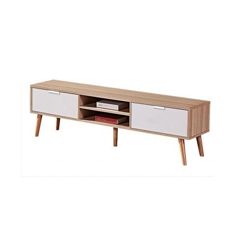 Local โต๊ะวางทีวี ขนาด 45x180x40 Cm.  1810 -WH สีขาว -ไม้ สีขาว