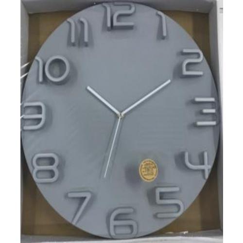 COZY  นาฬิกาติดผนัง 40ซม.  BY031 สีขาว