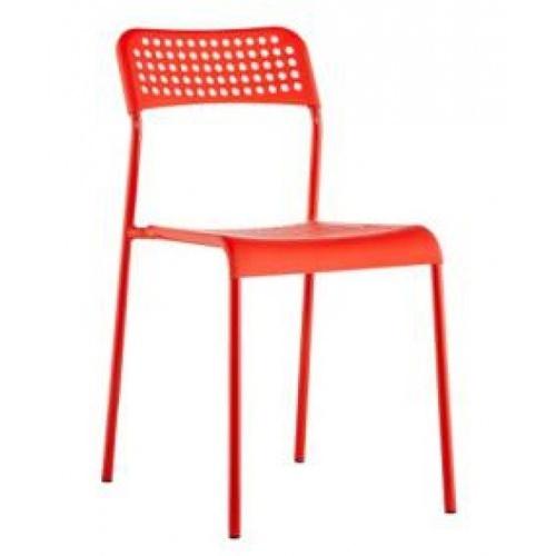 TABIO เก้าอี้พลาสติก BPD120 สีแดง