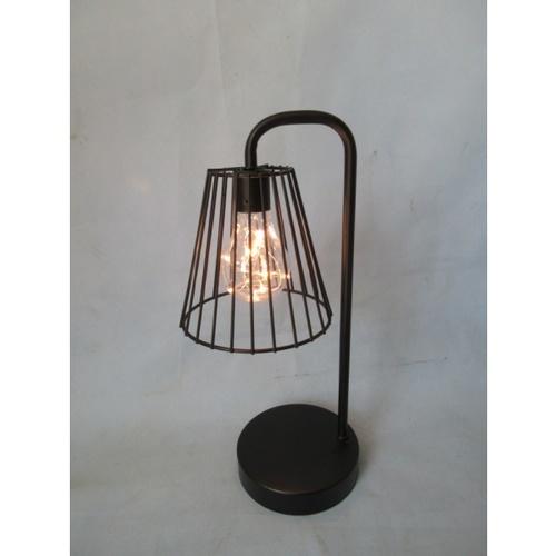 COZY โคมไฟตกแต่ง LED ตั้งโต๊ะ ขนาด  12x12x33cm  WY3540 สีขาว