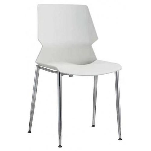 Delicato เก้าอี้สำนักงาน PXY1-WH สีขาว