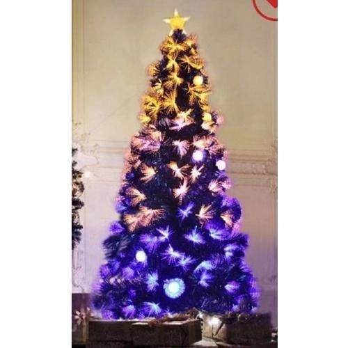 Tree O ต้นคริสต์มาสตกแต่งประดับไฟ ขนาด 210 ซม. 622-1 ขาว-เหลือง