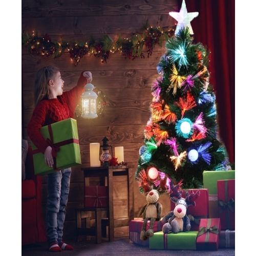 Tree O ต้นคริสต์มาสตกแต่งประดับไฟ  ขนาด 150ซม.  622-2 คละสี