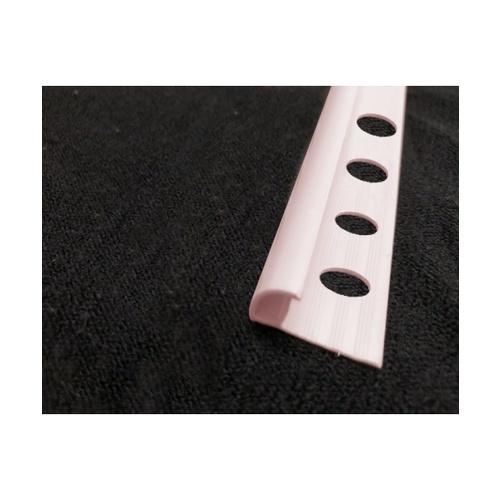 MAC  คิ้วกระเบื้องโค้ง PVC  GGW-038-PK 10mm  สีชมพู