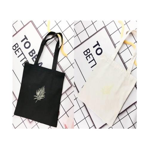 USUPSO กระเป๋าผ้าสีดำ - สีดำ