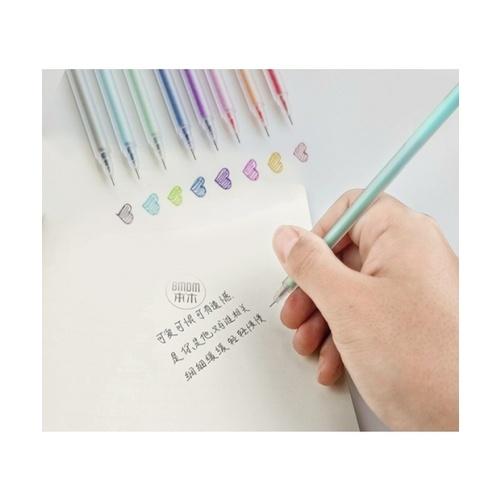 USUPSO ปากกาเจล สีฟ้า pen A สีฟ้า