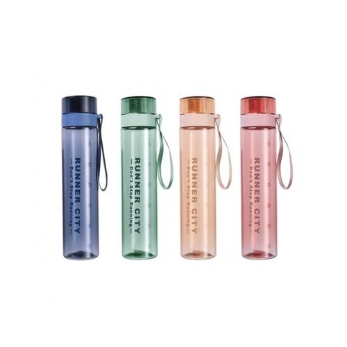 USUPSO USUPSO กระบอกน้ำพลาสติก 650 ml คละสี (#L9)  ขาว