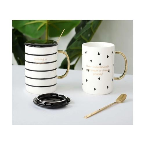 USUPSO แก้วกาแฟเซรามิค - สีขาว