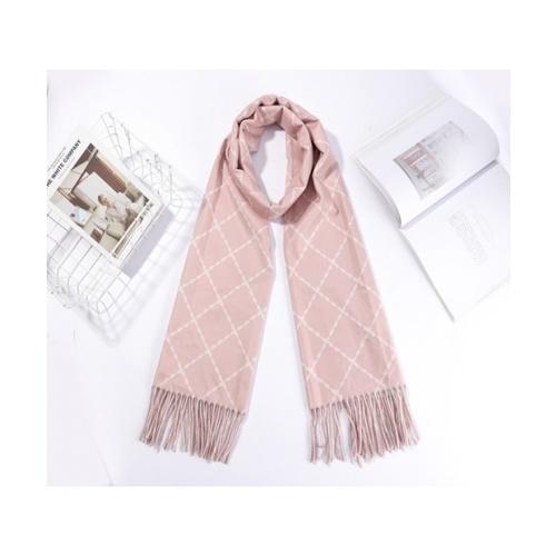 USUPSO USUPSO ผ้าพันคอ 3004 (#N9-1)  ขาว