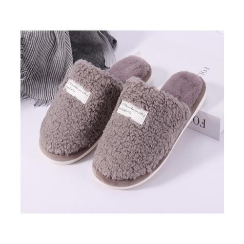 USUPSO รองเท้าใส่ในบ้าน - สีเทา