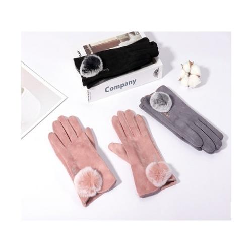 USUPSO USUPSO ถุงมือเต็มนิ้วสำหรับผู้หญิง 3002 (#BU9)  ขาว