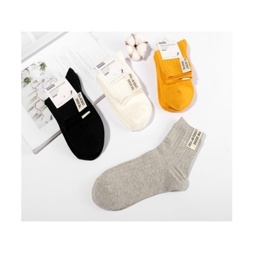USUPSO USUPSO ถุงเท้าข้อยาว (#AA5)  ขาว