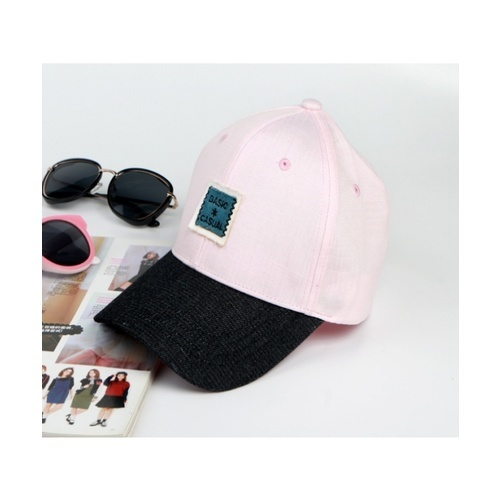 USUPSO หมวกแก๊ป  Denim Baseball  - สีชมพู