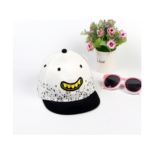 USUPSO  หมวกแฟชั่นเด็ก - สีขาว