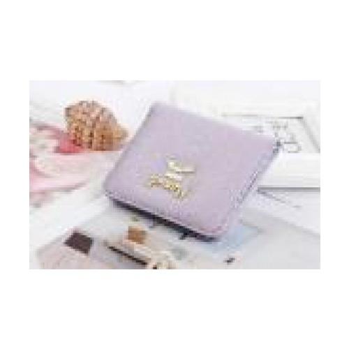 USUPSO  กระเป๋าเงิน ผู้หญิง  สีม่วง