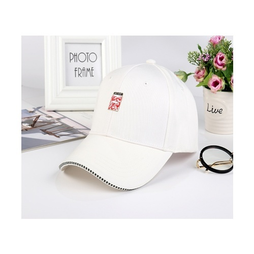 USUPSO หมวกแก๊ปเบสบอล  - สีขาว