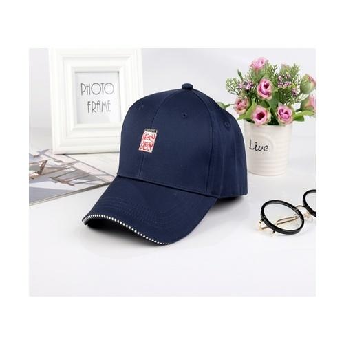 USUPSO หมวกแก๊ปเบสบอล สีกรม สีน้ำเงิน