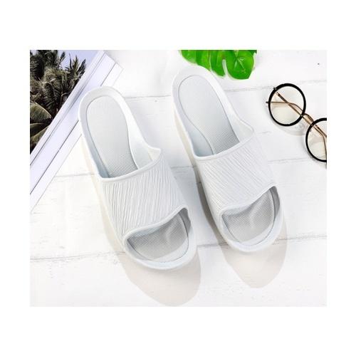USUPSO รองเท้าแตะ Twill Couple สีน้ำเงิน-เทา  (41-42) สีเทา