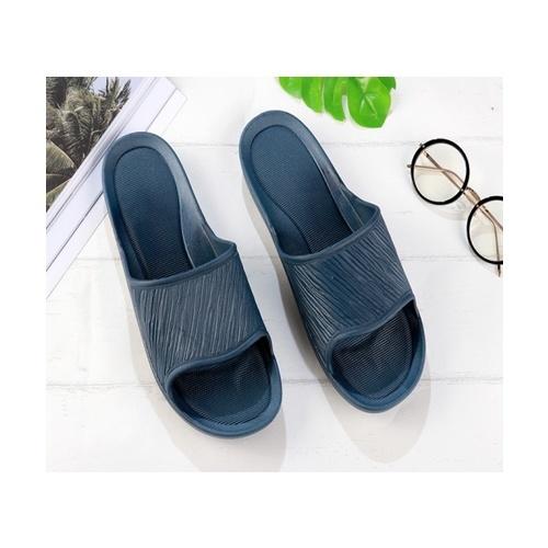 USUPSO รองเท้าแตะอาบน้ำ สีกรม 43-44  สีน้ำเงิน