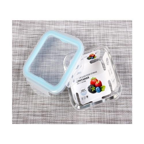 USUPSO กล่องอาหารทรงสี่เหลี่ยม 330 มล. สีขาว