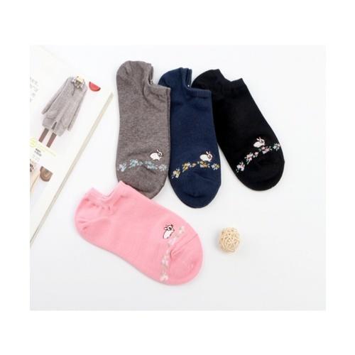 USUPSO  ถุงเท้าสั้นผู้หญิงกระต่าย (2คู่) -