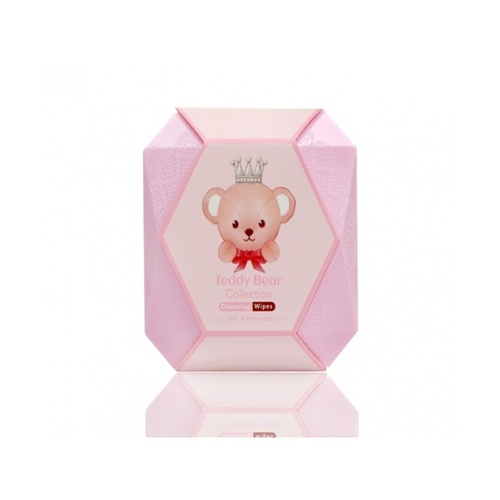 USUPSO แปรงแต่งหน้า Teddy collection สีชมพู