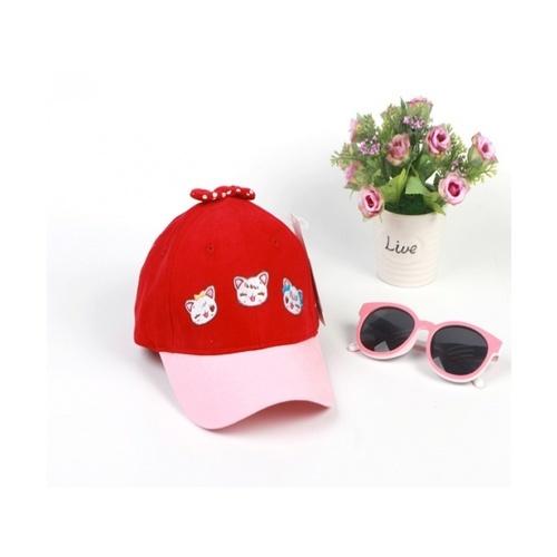 USUPSO หมวกเบสบอล - สีแดง