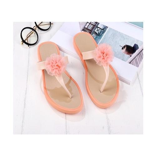 USUPSO รองเท้าแตะผู้หญิง  Sweet Flower Lady - (36) สีส้ม