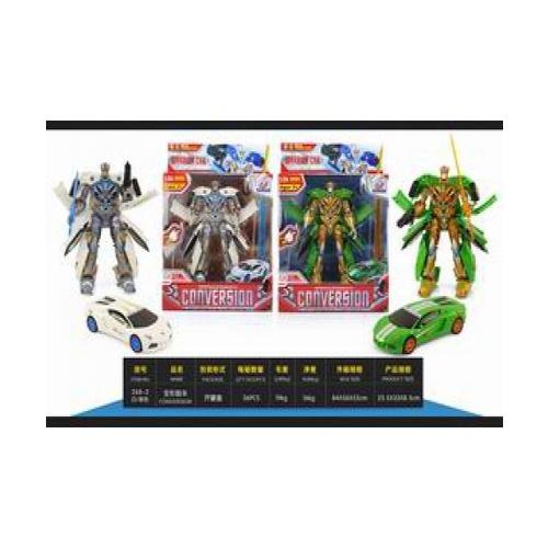 Sanook&Toys หุ่นยนต์ Deformation vehicles 277801 สีเขียว