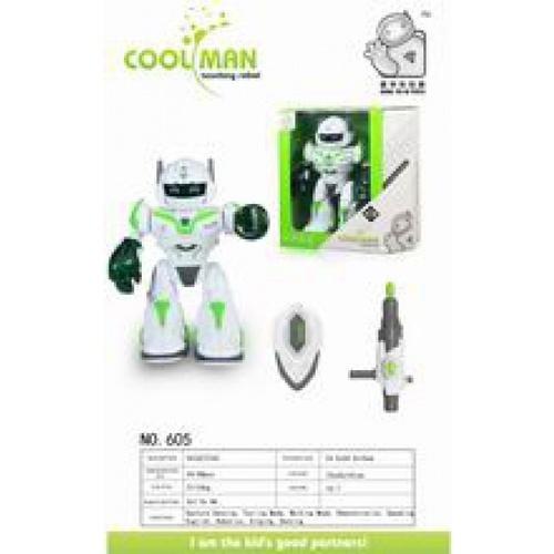 Sanook&Toys หุ่นยนต์ Cool man 276496 สีขาว