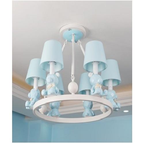 EILON โคมไฟแขวนแฟนซี  MD8396-6 สีฟ้า