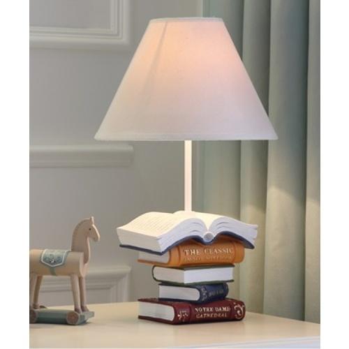 EILON โคมไฟตั้งโต๊ะแฟนซี  MT4022  สีขาว
