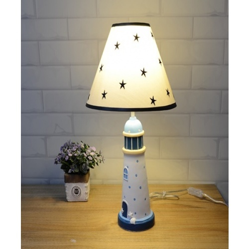 EILON โคมไฟตั้งโต๊ะแฟนซี   MTJT850 สีขาว