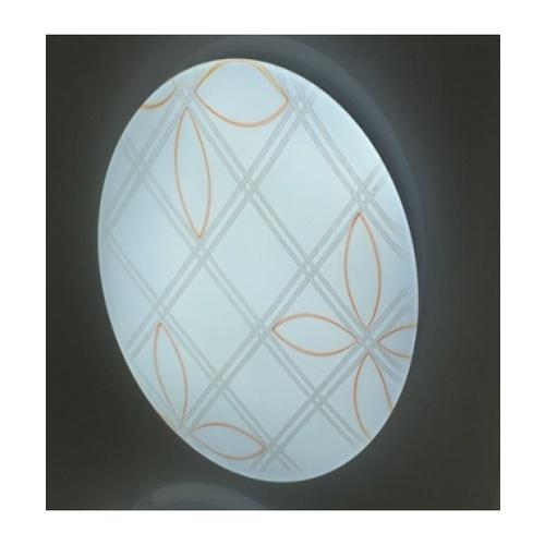 EILON โคมไฟเพดานอะคริลิค  GJXD350P2-2*24W คูลไวท์