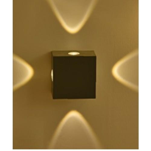 EILON โคมไฟผนังโมเดิร์น  กันน้ำ IP72 3W*4  SZ-2873 สีเหลือง
