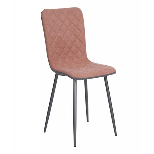 Pulito เก้าอี้ขาเหล็ก ขนาด 43x54x85ซม. MONTAGE สีโรส